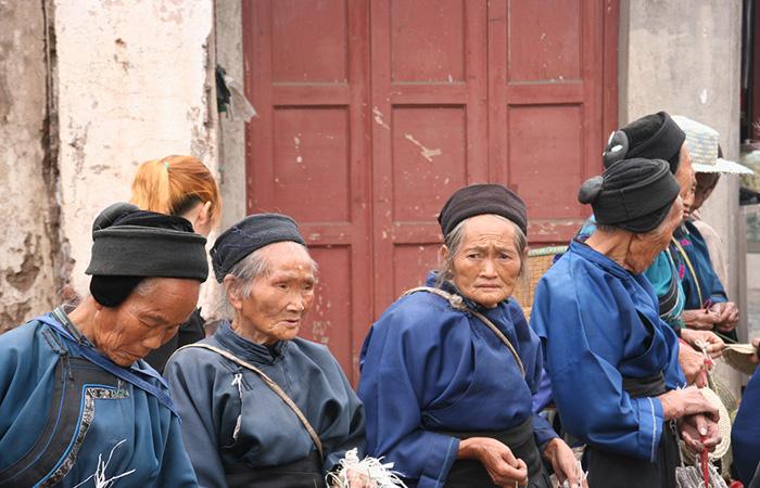 Les Naxi ethnie chinoise