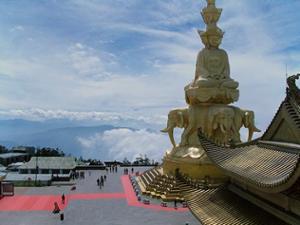temple Mont Emei