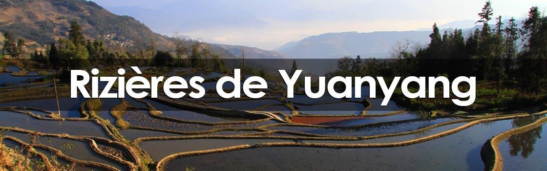 rizieres en terrasse de Yuanyang