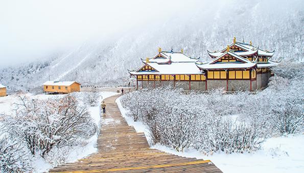 chine en hiver