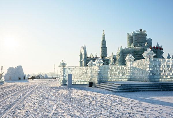 festival de glace à  Harbin