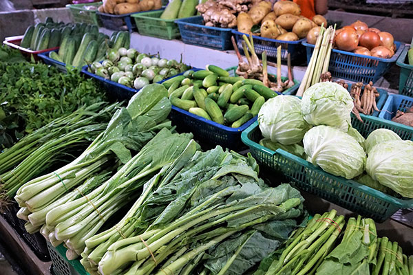 végétarien en Chine
